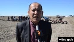 """нурлан Избаев, глава товарищества """"Актобе и К"""". Кызылординская область, 29 апреля 2015 года."""