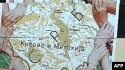 Мапа на Србија од 2007.