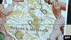 Mapa na autobusu gradskog prevoza u Beogradu - ilustracija