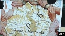 Poster na gradskom autobusu u Beogradu - ilustrativna fotografija