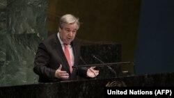 Sekretari i Përgjithshëm i OKB-së, Antonio Guterres.