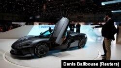 Na ovogodišnjem ženevskom Međunarodnom sajmu automobila Rimac predstavio najnoviju verziju svog električnog superautomobila C_Two