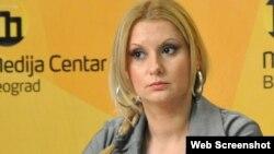 Aleksandra Jerkov, foto: Medija centar Beograd