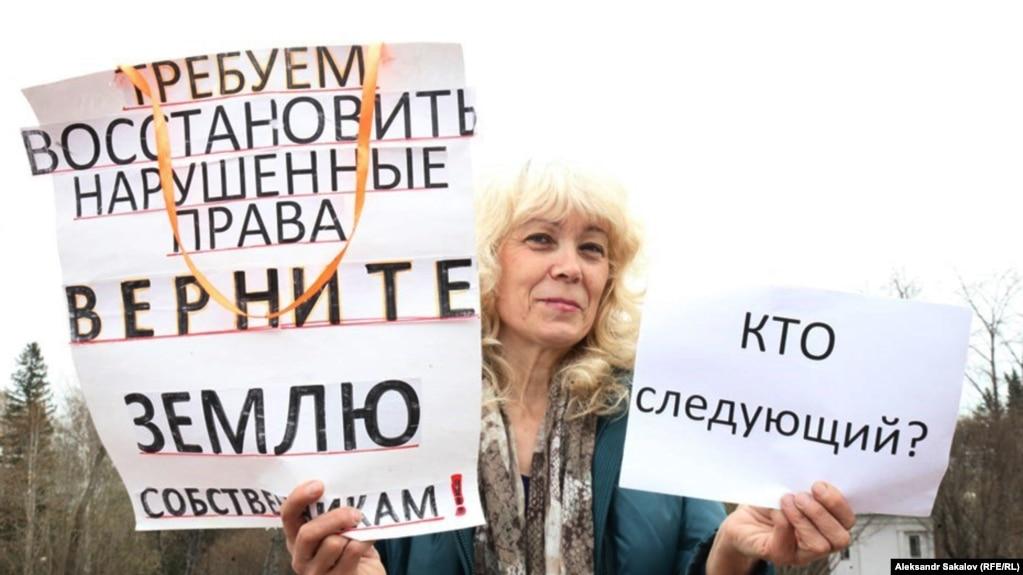 Томскую пенсионерку силой вывели с приема начальника полиции