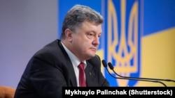 Ukraina prezidenti Petro Poroşenko