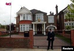 Здание посольства КНДР в Лондоне