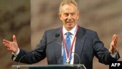 Ұлыбританияның бұрынғы премьер-министрі Тони Блэр. АҚШ, Филадельфия, 13 қыркүйек 2010 жыл.
