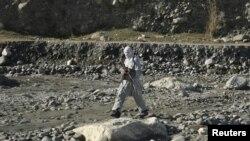 Një luftëtar taliban, foto nga arkivi