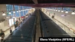 Открытие станции Фрунзенского радиуса в Петербурге
