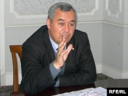 Низомиддин Зоҳидов, муовини вазири хориҷии Тоҷикистон