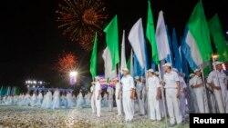 Празднование Дня независимости в Ташкенте. Архивное фото.