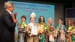 "Tatarstan -- European competition ""Tatar kyzy""."