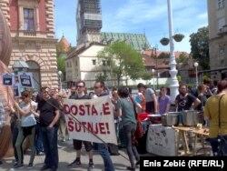 Prosvjed u Zagrebu
