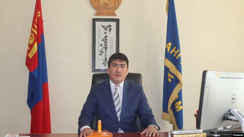 Моңғолия президентінің кеңесшісі Жандос Шәріпұлы.