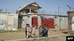 Дом в Пакистане, где скрывался Усама бин Ладен