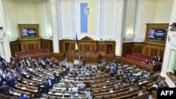 La sesiunea Parlamentului de la Kiev
