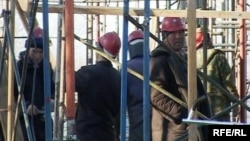 Строительство жилого дома в Талдыкоргане.