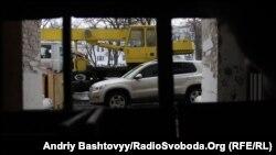 На реконструкції Гостиного двору в Києві, архівне фото