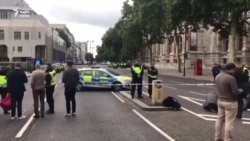 Pedestrians injured in London museum incident