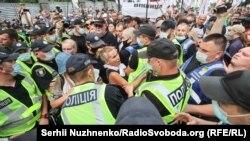 «Похорони мікробізнесу»: акція ФОПів у Києві (фоторепортаж)