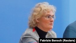 Кристине Ламбрехт, министр юстиции ФРГ