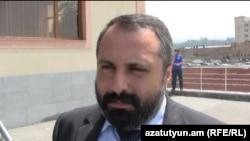 Пресс-секретарь президента Нагорного Карабаха Давид Бабаян (архив)