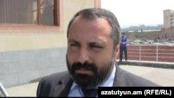 Пресс-секретарь президента Нагорного Карабаха Давид Бабаян