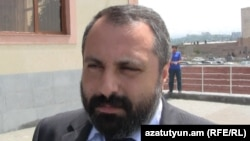 Armenia -- David Babayan, the speaker of NK President administrarion, undated.