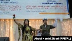 مشهد من حفل افتتاح مهرجان السلام والتآخي