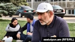 Никол Пашинян, Раздан, 10 апреля 2018 г.