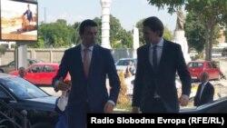 Kurc i makedonski šef diplomatije Poposki