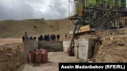 Урановое месторождение Кызыл-Омпол. 20 апреля 2019 года.