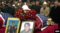 Lamtumira e fundit për vëllezërit Bytyçi, Prishtinë, 27 shkurt 2002
