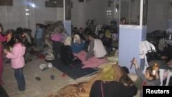 Сырыя: жыхары прымесьця гораду Хомс хаваюцца ад урадавага артабстрэлу