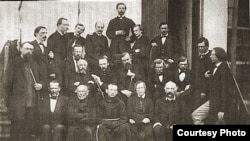 Группа польских священников (архивное фото)