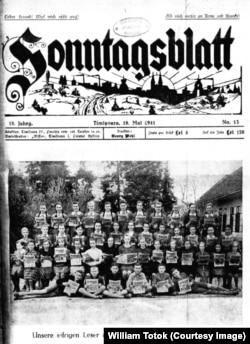 Gazeta anti-nazistă timişoreană, Sonntagsblatt, 1941