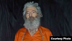 A photograph of missing U.S. citizen Robert Levinson which was e-mailed to his family in 2011.