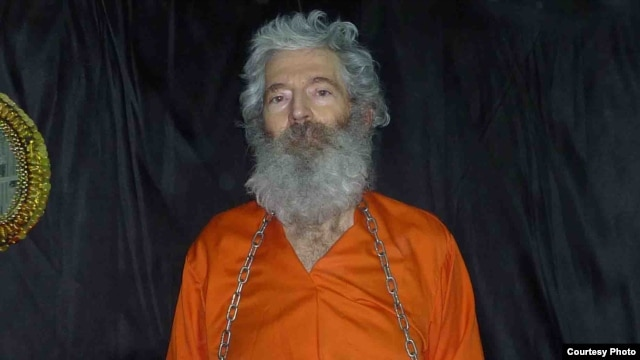 A photograph of missing retired FBI agent Robert Levinson, which his family says they received by e-mail in April 2011.