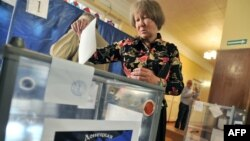 Rebels in eastern Ukraine had planned to hold local elections on October 18 and November 1. (file photo)