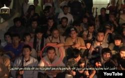 """Скриншот видео, размещенного в YouTube, в котором рассказывается о """"переехавших в Сирию казахах""""."""