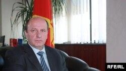 Народен правовбранител Иџет Мемети.