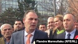Foto nga arkivi: Ramush Haradinaj dhe Fatmir Limaj
