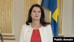 Действующий председатель ОБСЕ, министр иностранных дел Швеции Анн Линде