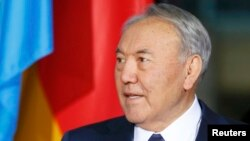 Президент Казахстана Нурсултан Назарбаев. Берлин, 9 января 2015 года.
