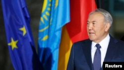 Нурсултан Назарбаев Берлинде. 9-январь, 2015-жыл