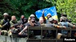 Ukrainanyň hökümet güýçleri, 14-nji iýun, 2014.