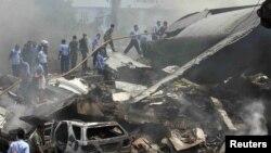 Ինդոնեզիա - Կործանված Hercules C-130-ի բեկորները, Մեդան, 30-ը հունիսի, 2015թ․