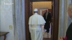 Trump Meets The Pope At The Vatican