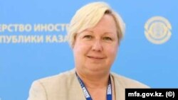 Глава миссии по наблюдению за выборами БДИПЧ/ОБСЕ Уршула Гацек.