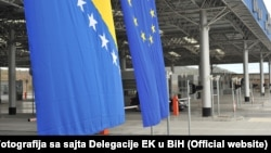 Bosnia-Herzegovina - Bijaca border between Bosnia and Croatia, undated